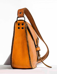 leather bag handmade Alis II