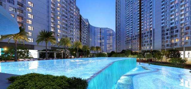 Hồ Bơi Thác Nước 2 Tầng River City