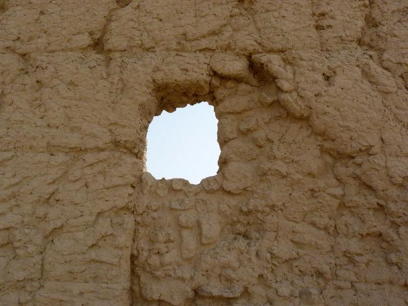 XINJIANG.  Turpan. Ancient city of Jiaohe, Flaming Mountains, Karez, Bezelik Thousand Budda caves - P1270791.JPG