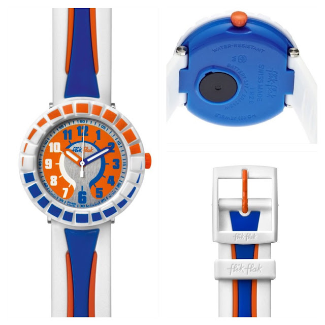Swatch Flik Flak All Around Orange   Blue  90777a521f6