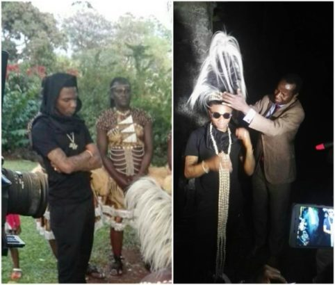 Wizkid Honored With A Chieftaincy Title In Uganda (Photos)
