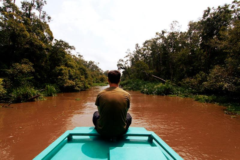 Klotok en el parque nacional Tanjung Puting (Kalimantan - Borneo)