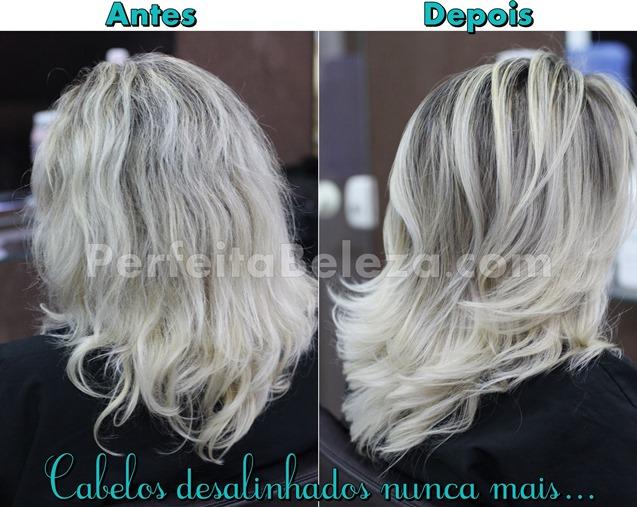 tratamento para cabelos descoloridos