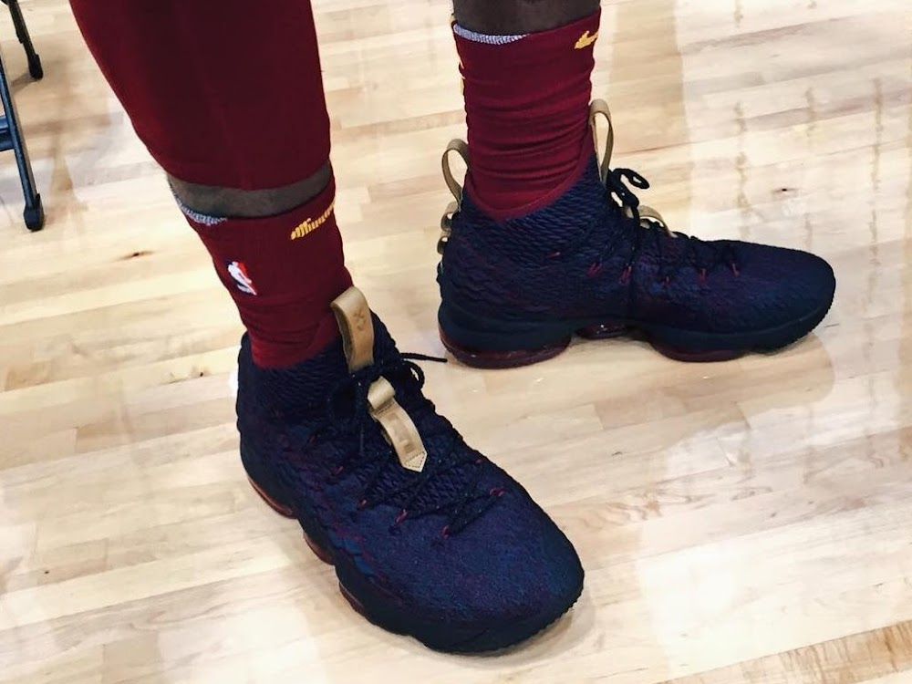 9d19d57389b ... King James Debuts Special Nike LeBron 15 on NBA Media Day ...