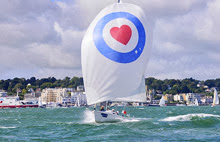 J/80 one-design- sailing Cowes Week