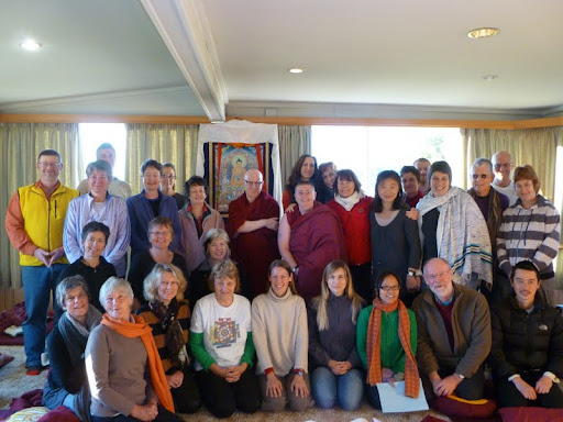 A 10-day vipassana retreat with Ven. Antonio Satta was held in late 2011 at Chag-tong Chen-tong Centre, Tasmania, Australia.