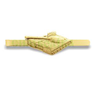 Затискач для краватки танк