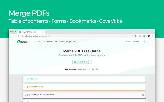 pdf merger sejda