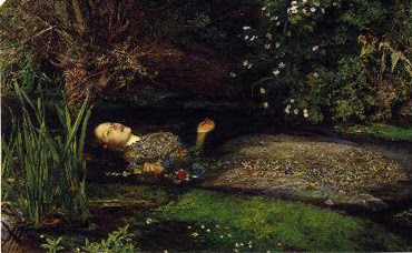 Ophelia - J. Millais