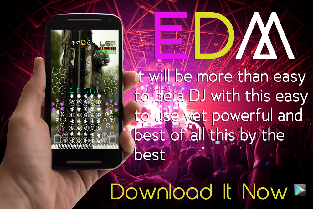 EDM DJ ELECTRO MUSIC MIX PAD- screenshot