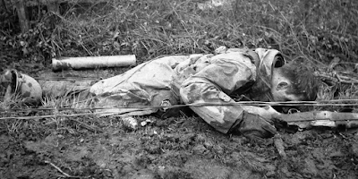 photo of dead solding in WWII