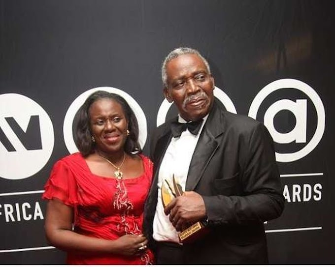 Congratulations! Joke Silva And Olu Jacobs Welcome Their First Grandchild (Photos)