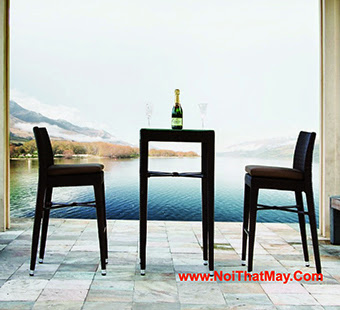 Outdoor Wicker Bar Set Minh Thy 826