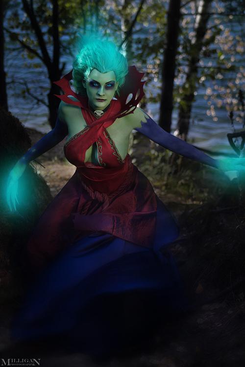 Milligan  Vick siêu quyến rũ với cosplay Death Prophet - Ảnh 7