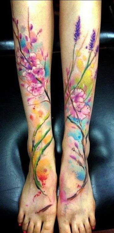 conexo_aquarela_floral_perna_tatuagens
