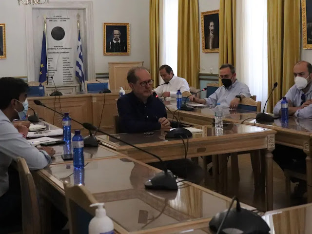 Τηλεδιάσκεψη του Π. Νίκα με την ΤΕΡΝΑ για την ΣΔΙΤ της διαχείρισης απορριμμάτων Πελοποννήσου
