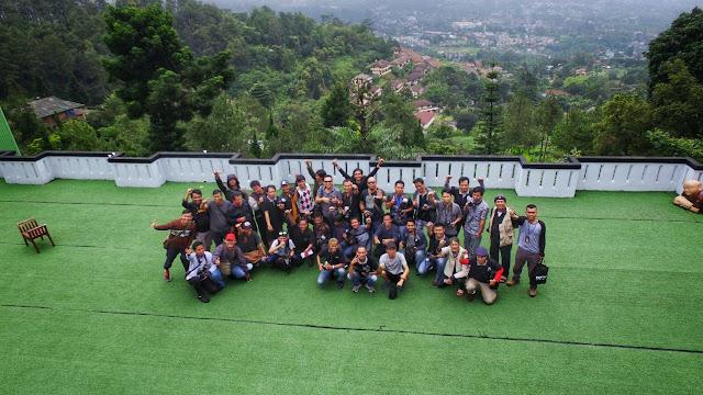 Himpunan Potografer Bekasi sukses gelar Raker di Bogor