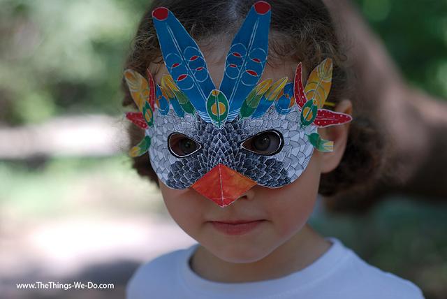 how to make a giant head mask