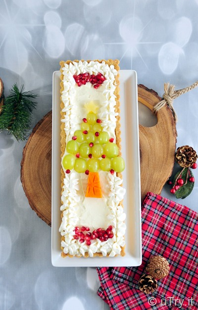 How to Make Christmas Fruit Tart filled with Meyer Lemon Mousse (with video tutorial)  http://uTry.it