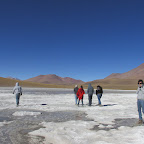 Laguna congelada