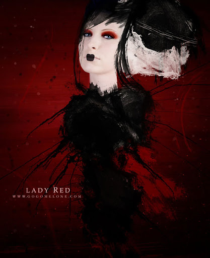 Lady Red, de Art-Of-Mel