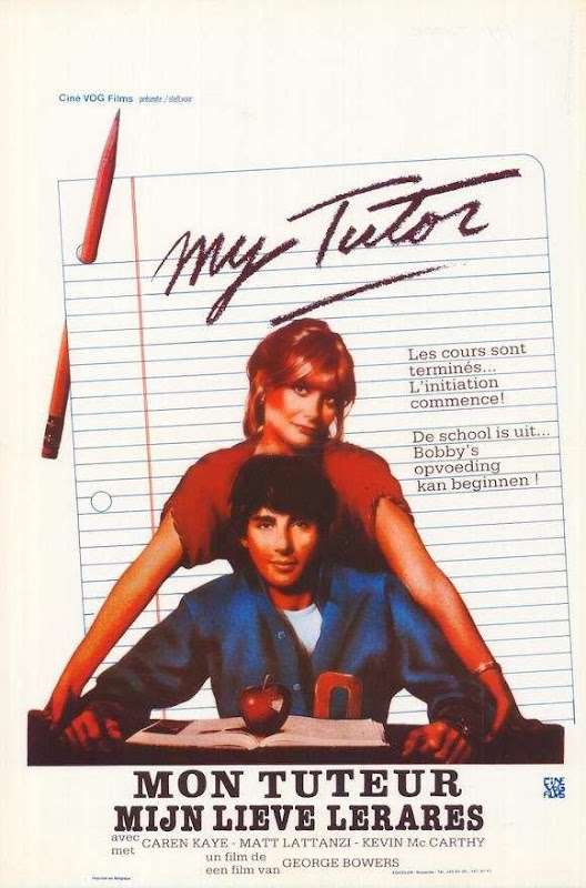 Poster Of My Tutor (1983) Full Movie Hindi Dubbed Free Download Watch Online At Alldownloads4u.Com