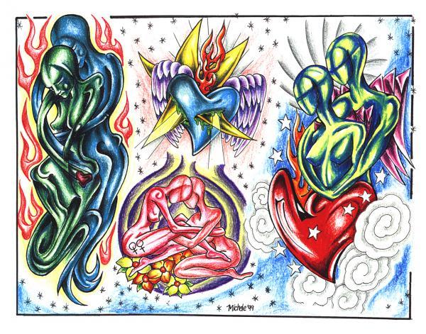 Silent Tattoo Design 3, Fantasy Tattoo Designs