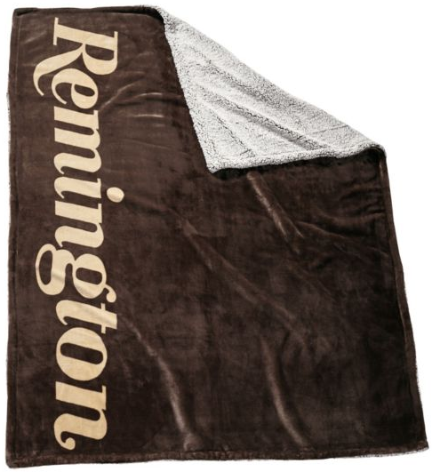 Remington Sherpa/Flannel Throw