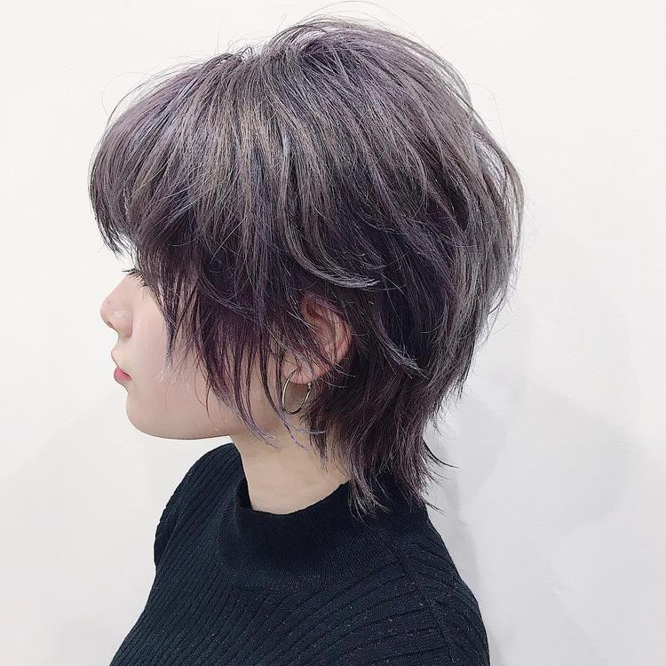 カット レディース ウルフ 【2021年夏】ショート ウルフの髪型・ヘアアレンジ 人気順 ホットペッパービューティー
