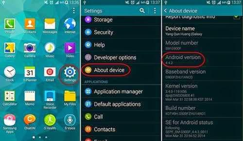 Pentingnya mengetahui jenis dan versi sistem operasi Androd milik sendiri dapat menjadi sa Cara Cek Versi Android OS Di HP dan Tablet
