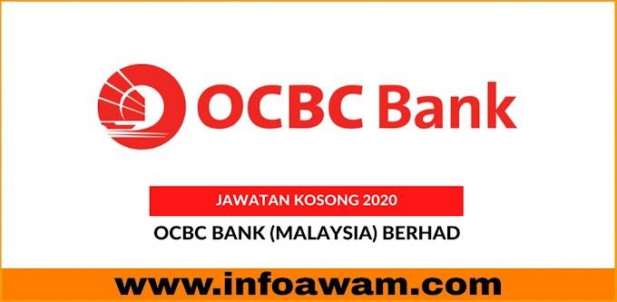 Jawatan Kosong Terkini Di OCBC Bank Malaysia Berhad