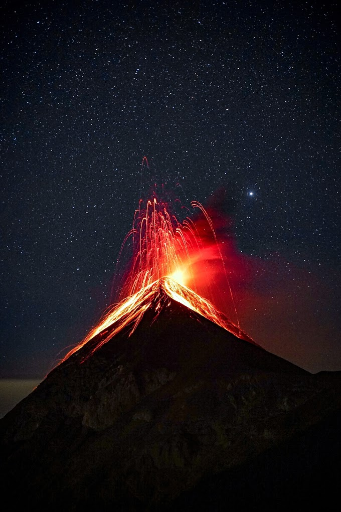 What If Every Volcano On Earth Erupts At Once ?