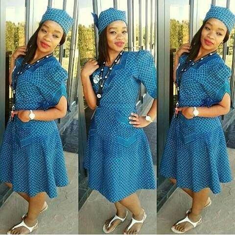 African ShweShwe Dresses 2018