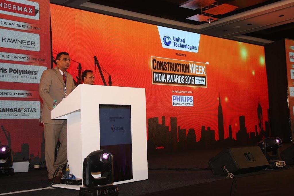 Construction Week India Awards 2015 - Sahara Star 15