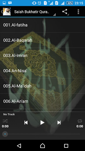 CORAN MP3 GRATUIT SALAH BUKHATIR