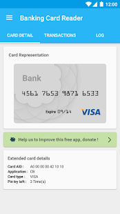 Credit Card Reader NFC (EMV)- screenshot thumbnail