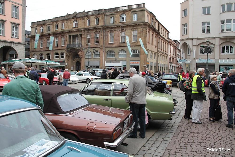 Im Ziel angekommen Johannes Rau Platz in Wuppertal Barmen.