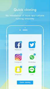 App Dual Space - Multi Accounts & Fresh Blue Theme APK for Windows Phone