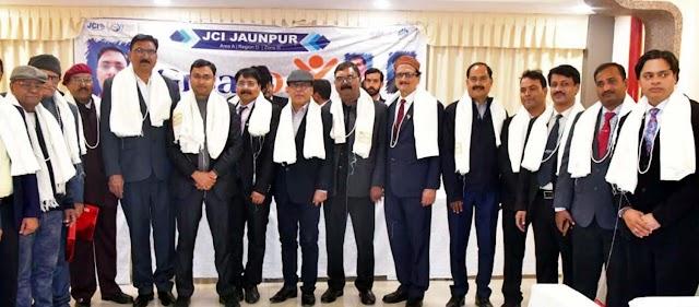 जेसीआई जौनपुर ने 'ग्रेट डे' पूर्व अध्यक्षों को किया सम्मानित