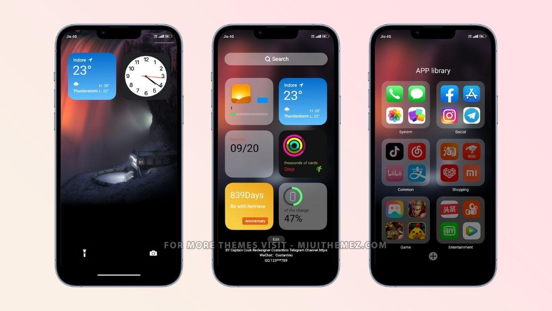 iOS 14.9 Global MIUI Theme