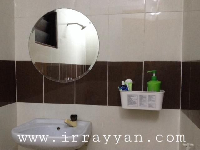 Tak Lengkap Bilik Air Tanpa Cermin Irrayyan