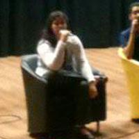 Amanda Aouad no Lançamento do Fala Cinéfilo - 2012