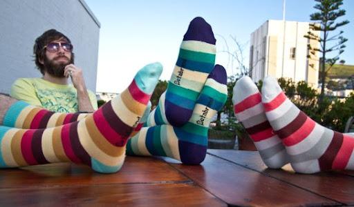 COLOURlovers socks