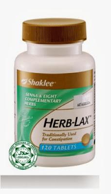 melawas kempis perut dengan herblax shaklee