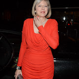 WWW.ENTSIMAGES.COM -   Theresa May   at      The Sugarplum Dinner at One Mayfair, 13 North Audley Street, London November 20th 2013                                                 Photo Mobis Photos/OIC 0203 174 1069
