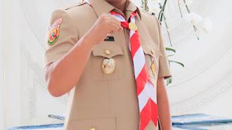Jadi Ketua Kwarcab Karawang, Haji Aep Geser Dadan Sugardan
