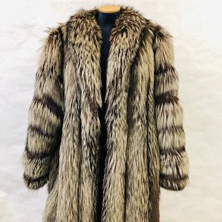 *SALE* Silver Fox Fur Coat