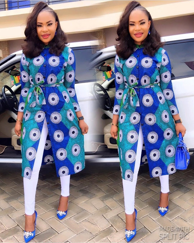 latest Elegant Ankara jacket design 2018 , 2018 (4)