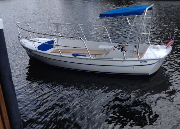 2006 Duffy Balboa 18' Electric boat for sale - The Hull