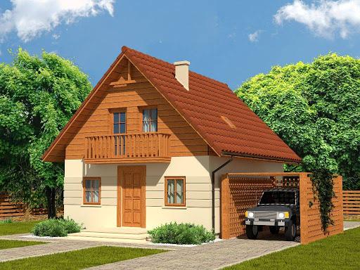 projekt Domek Mały 004 BK V3